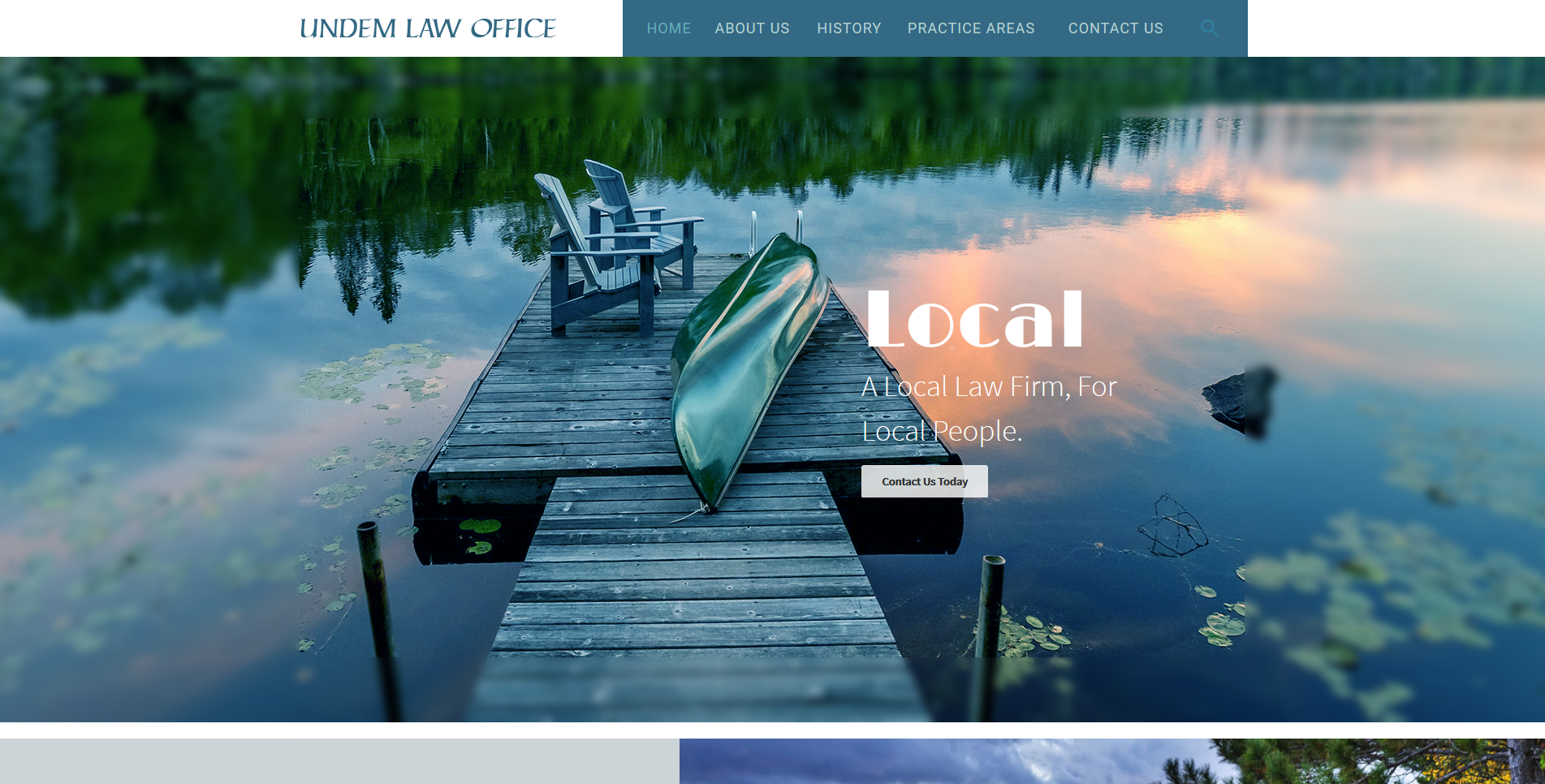 Law Office Web Design by Big Groovy Designs